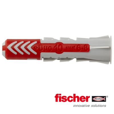 Fischer Duopower pluggen 10x50 mm 50 stuks