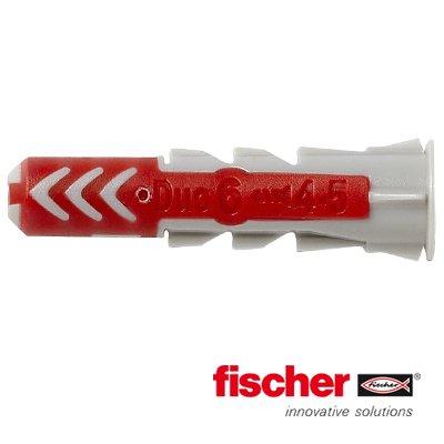 Fischer Duopower pluggen 6x30 mm 100 stuks