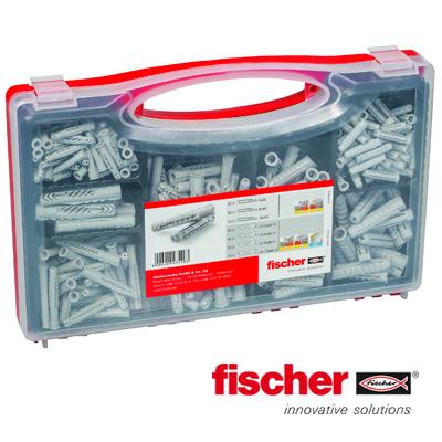 Fischer assortimentsdoos SX/UX pluggen 290-delig