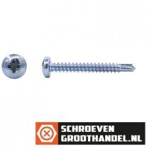 Boorschroeven verzinkt 3,5x32mm cilinderkop philips DIN 7504-N 200 stuks