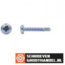 Boorschroeven verzinkt 4,8x25mm cilinderkop philips DIN 7504-N 200 stuks
