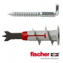 Fischer DuoBlade gipsplaatpluggen 44mm met winkelhaken 4,2x40 6 stuks