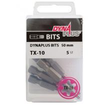 Dynaplus bit TORX-10 ROZE 50mm 5 stuks