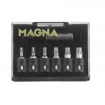 Magna bitset TORX 7-delig