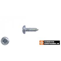 Parkers verzinkt 4,8x13mm cilinderkop philips DIN 7981 200 stuks