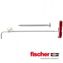 Fischer DuoTec hollewandpluggen 10 met bolkopschroeven 5,0x60mm 2 stuks