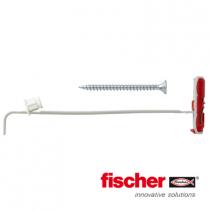 Fischer DuoTec hollewandpluggen 10mm met schroeven 25 stuks