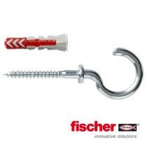 Fischer Duopower pluggen 5x25mm met ronde haken 4,0x56mm 8 stuks