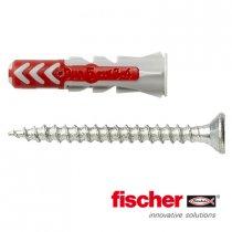 Fischer Duopower pluggen 5x25mm met schroeven 3,5x35mm 50 stuks