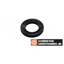 Sluitringen M6 nylon zwart DIN125A 200 stuks