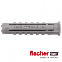Fischer pluggen SX8 100 stuks