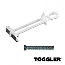 Toggler hollewand anker met bouten M8 10-64 mm 4 stuks